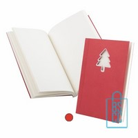Notitieboek kerst bedrukken, goedkope kerstgeschenken bedrukken, bedrukte kerstgeschenken, relatiegeschenken bedrukt