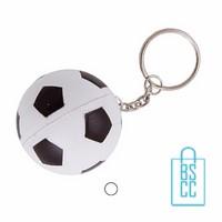 Sleutelhanger anti stress voetbal bedrukken
