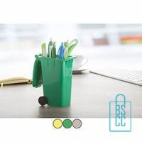 Pennenhouder bedrukken Container, pennenhouders bedrukt, pennenhouders met logo, bedrukte pennenhouders