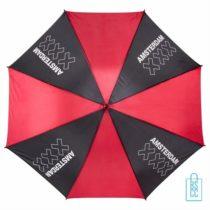 Golf Paraplu Amsterdam bedrukken, GP-102, gebouwen amsterdam paraplu, souvenir amsterdam paraplu, goedkope amsterdam paraplu