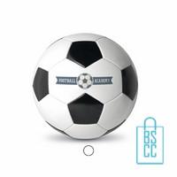 Voetbal goedkoop bedrukken, voetbal bedrukken, bedrukte voetbal met logo