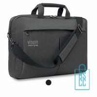 Laptoptas 15 inch luxe bedrukken, laptoptas bedrukt, goedkope laptoptas met logo