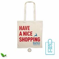 Milieuvriendelijke cotton boodschappentas bedrukken, duurzaam tasje bedrukt, goedkope milieuvriendelijke tas