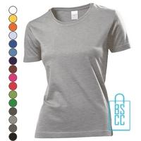 T-Shirt Dames Jersey bedrukken