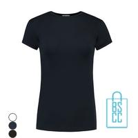 T-Shirt Dames Katoen bedrukken