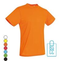 T-Shirt Heren Heren Sport Katoen bedrukken